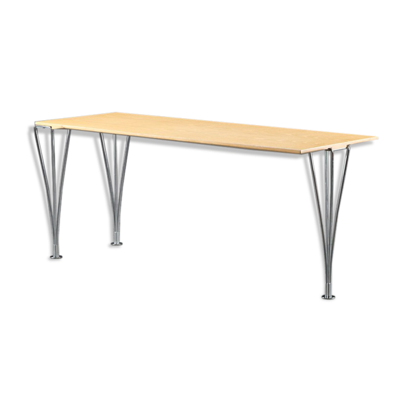 Table basse rectangulaire Piet Hein & Bruno Mathsson