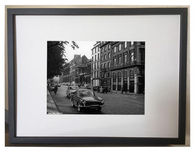 Photographie vintage quai Malaquais Paris 1965