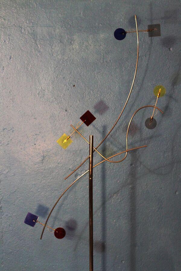 Lampadaire 8 feux Sil Lux Design 1990