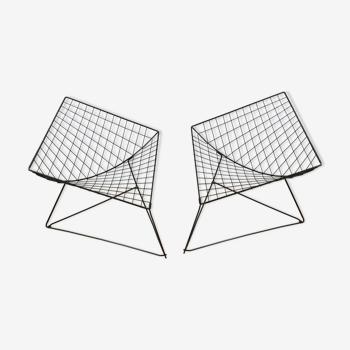 Paire de fauteuils Oti par Niels  Gamelgaard