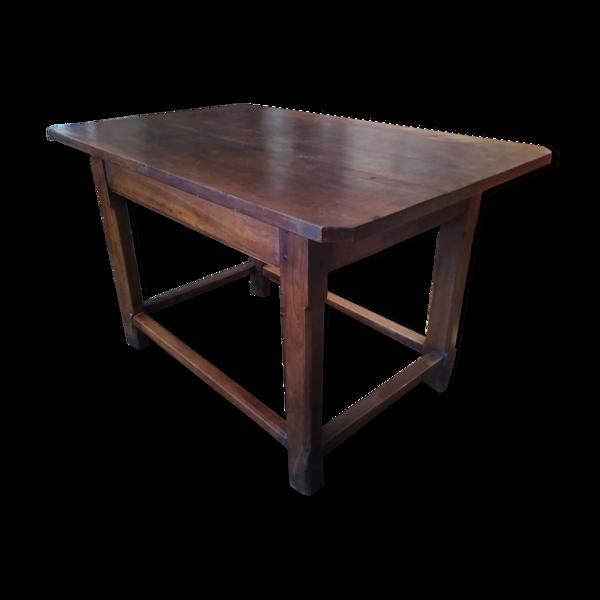 Table provençale du XIXe siècle en bois massif
