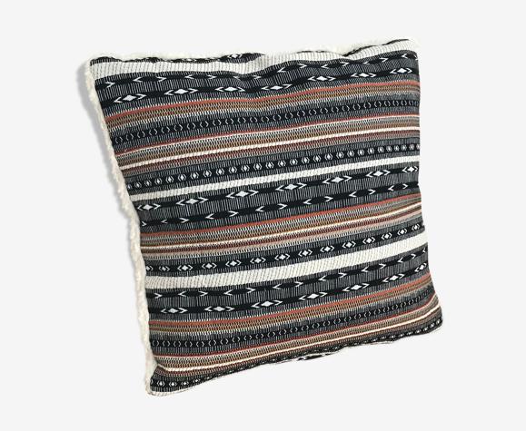 Coussin ethnique en coton bio 40cm