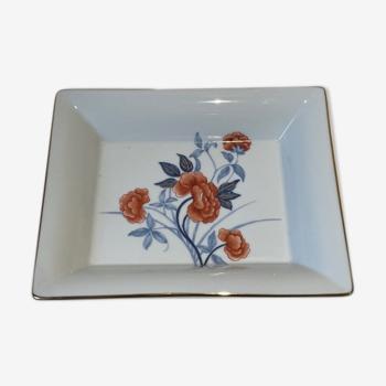 Cendrier vide poche porcelaine Philippe Deshoulières
