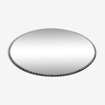 Mirror beveled plate