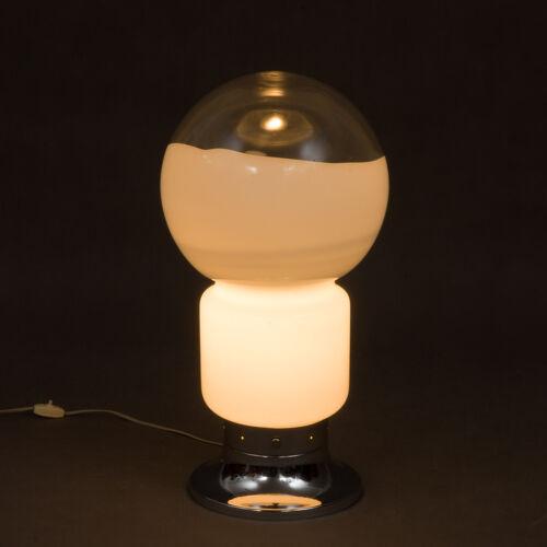 Lampe en verre de Murano Mazzega