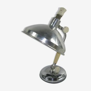 Lampe de table industrielle du milieu du siècle par Kurt Rosenthal, Allemagne, années 1950