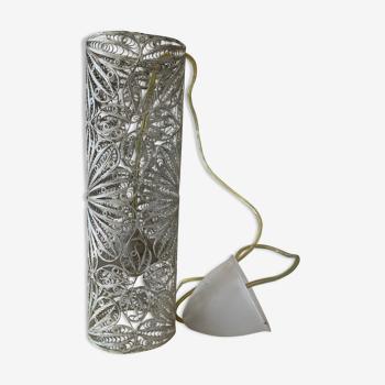 Suspension métal sculpté