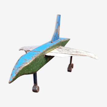 Concorde en métal