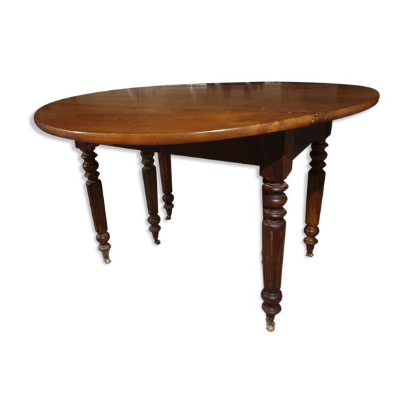 Selency Table ronde 4 à 8 couverts