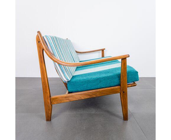 Ensemble de fauteuils et canapé style scandinave vintage design des années 60
