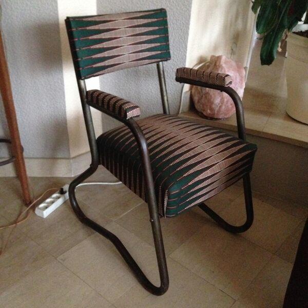 Ancien fauteuil médical d'après guerre