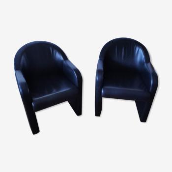 Deux fauteuils Artnova Suisse
