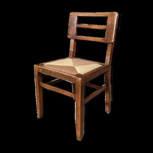 Lot de 4 chaises Pierre Cruege