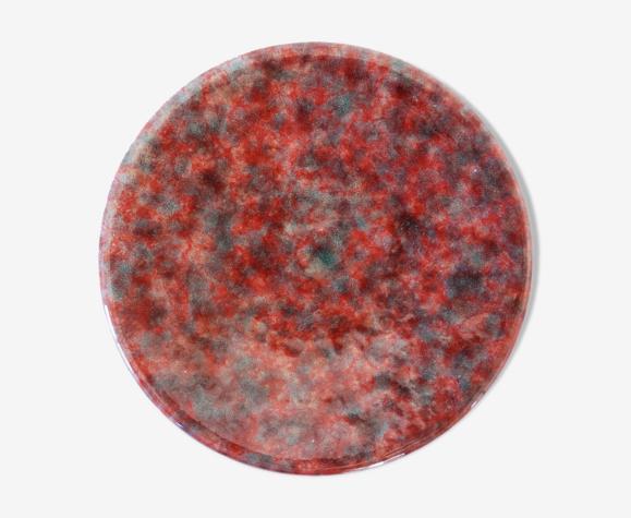 Coupelle en céramique rose vintage