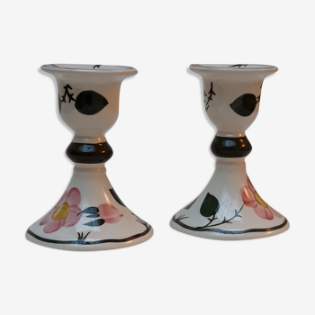 Bougeoirs chandeliers wild rose villeroy et boch