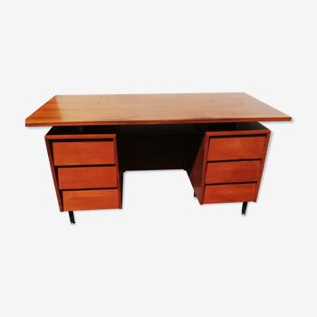 Bureau vintage 6 tiroirs