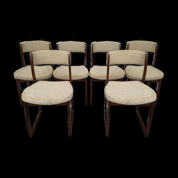 Set de 6 chaises de salle à manger Self Baumann