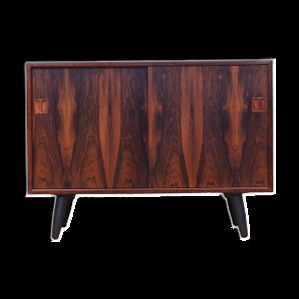 Buffet en bois de rose, design danois, années 1970, fabriqué au danemark