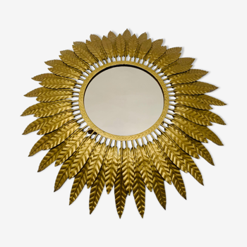 Miroir soleil illuminé 65cm