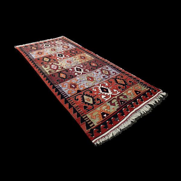 Tapis turc kilim 369x160 cm