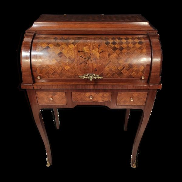 Bureau à cylindre style Louis XV