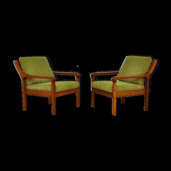 Paire de fauteuils danois d'EMC Furniture A/S années 1960