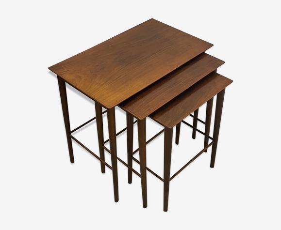 3x Danish Nest of Tables MidCentury 1960s