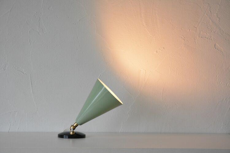 Lampe de table italienne, années 50
