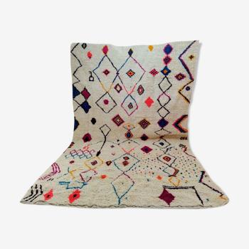 Tapis berbère coloré 358 x 228 cm