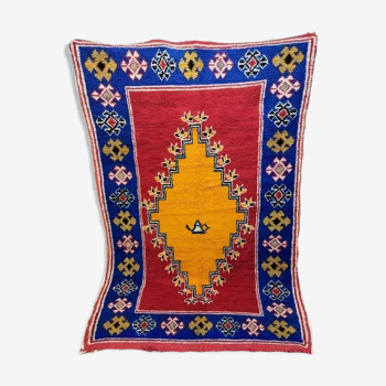 Tapis berbère marocain 207 x 138cm