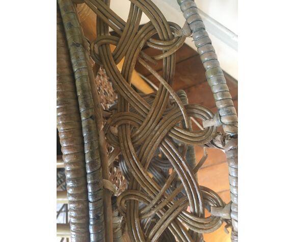 Emmanuelle chair in rattan