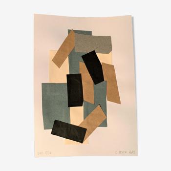 Collage Série Gris 8/10