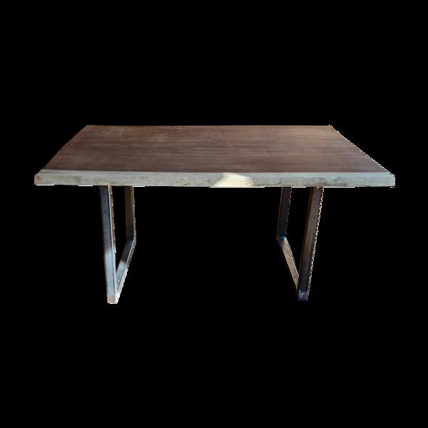 Table en Moabi bois exotique