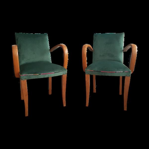 Lot de 2 fauteuils bridge