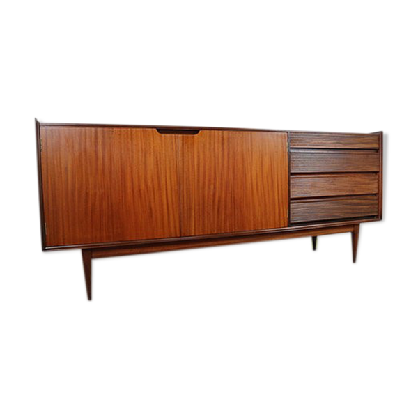 Mid-century Richard Hornby buffet or multimedia TV furniture designed for Heal's