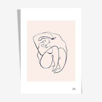 """Illustration N°07 """" Exquise """" collection """" Les divinités """""""