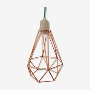 Lampe Diamond Cuivre