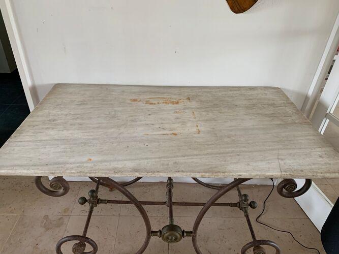 Table de boucher XXème