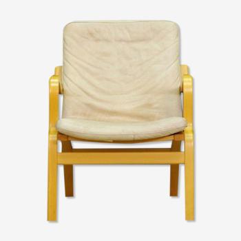 Fauteuil en cuir Stouby design danois