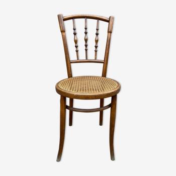 Chaise bistrot bois courbé vintage