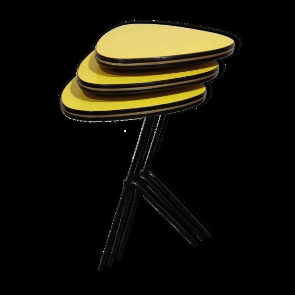 Tables gigognes vintage années 1960