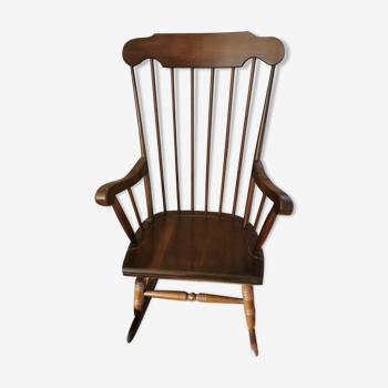 Rocking-chair vintage style Baumann