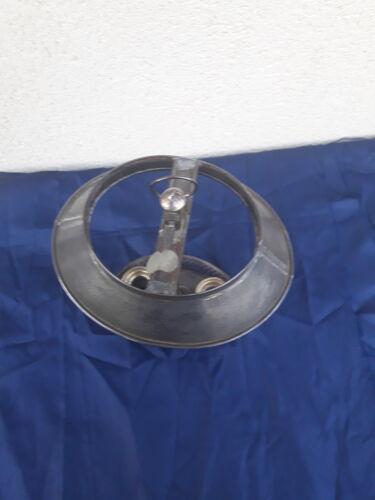 Lampe bouillotte  en tôle non électrifiée H 35 cm