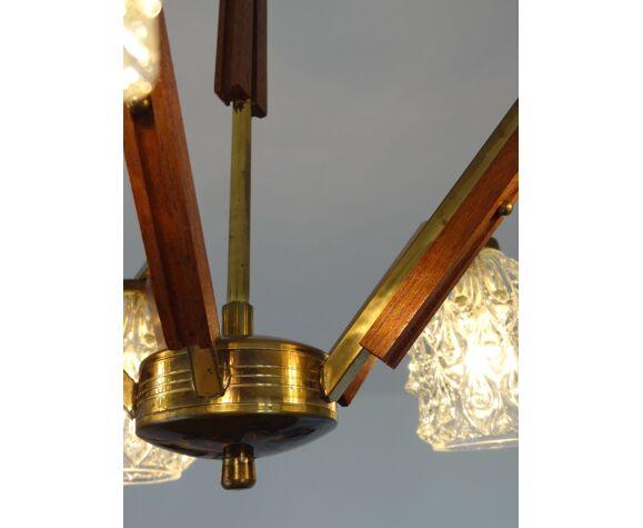 Lustre scandinave à cinq bras de lumière