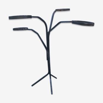Porte plante tripode fer forgé