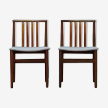 Chaises design scandinaves 60/70 teck