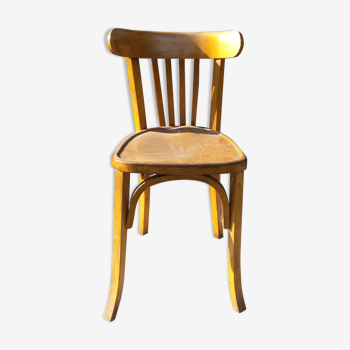 Chaise bistrot baumann chêne clair