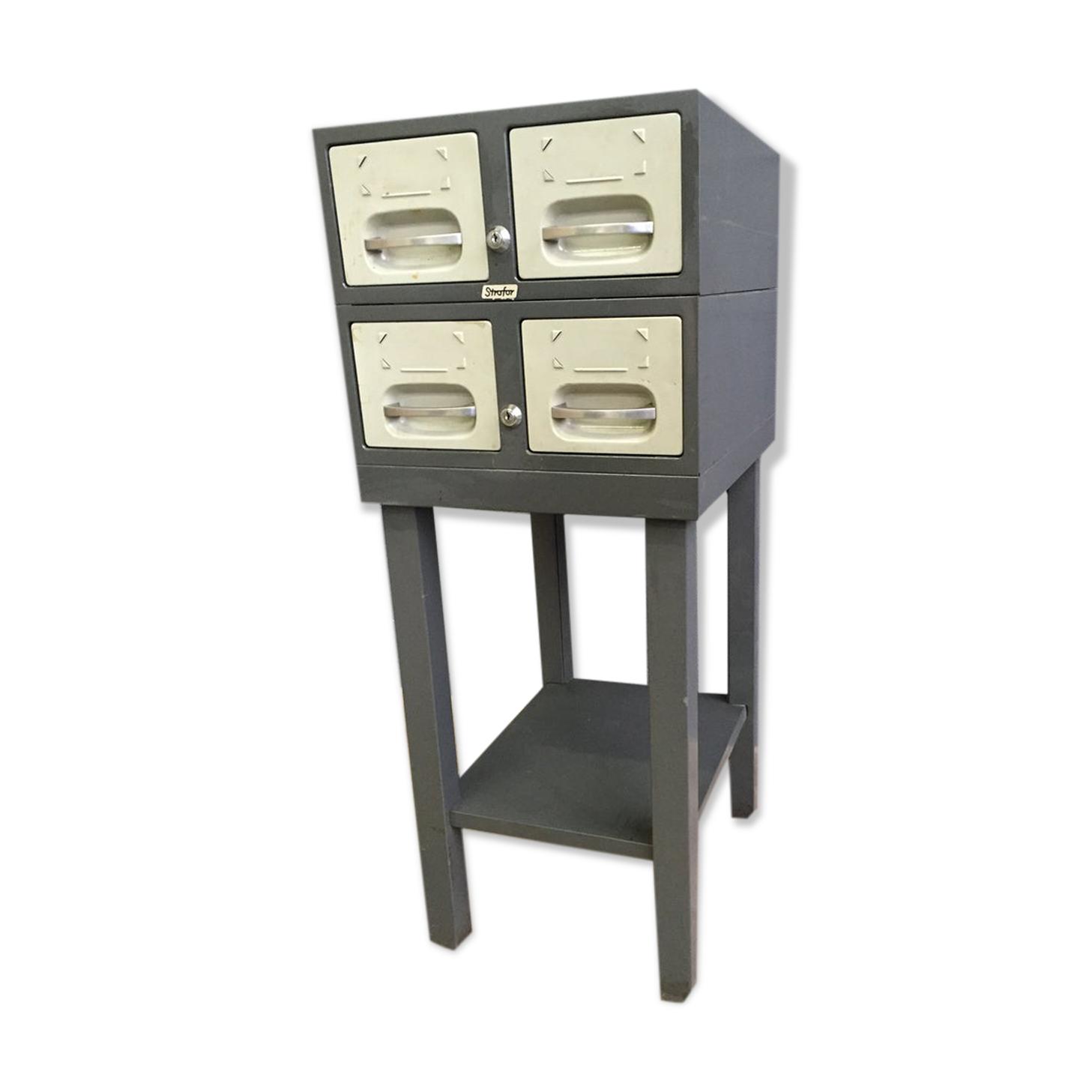 Meuble industriel tiroirs 60s