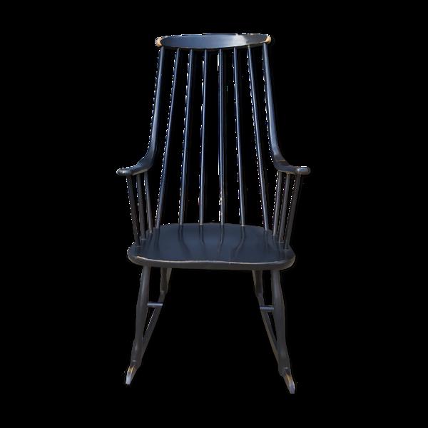 Rocking-chair scandinave vintage Lena Larsson pour Nesto