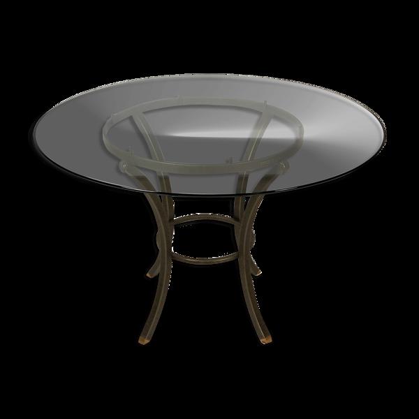 Table de repas par Pierre Vandel 1970